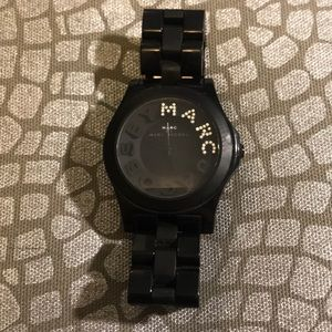 Black Marc Jacobs watch!